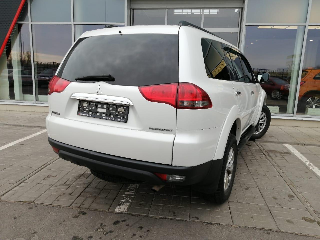 Mitsubishi   Pajero Sport, II Рестайлинг
