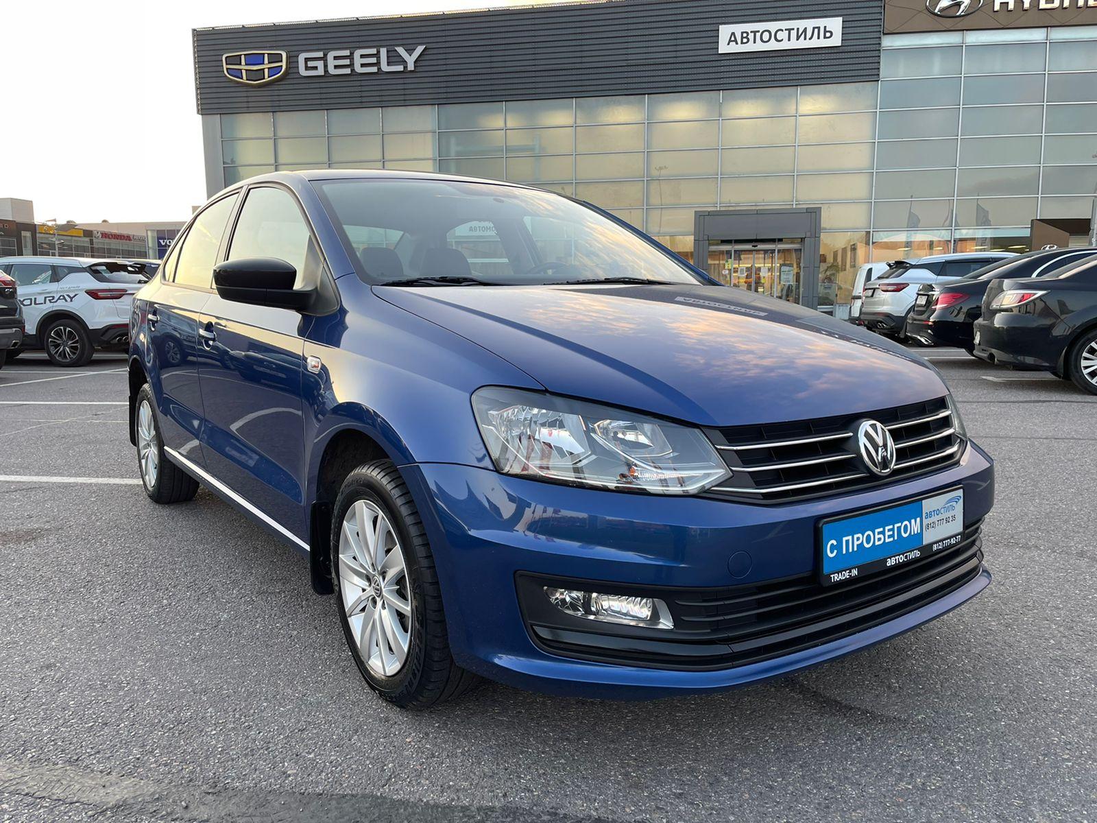 Volkswagen Polo, 5 поколение [рестайлинг]