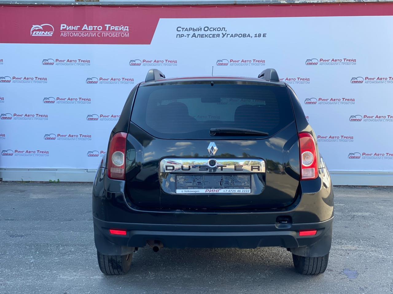 Renault Duster Внедорожник (2012г.)