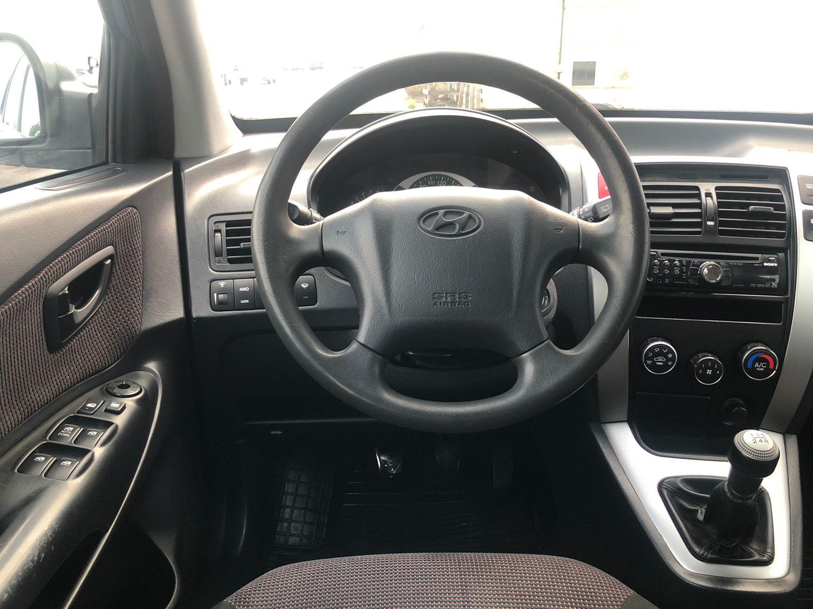Hyundai Tucson Внедорожник (2008г.)