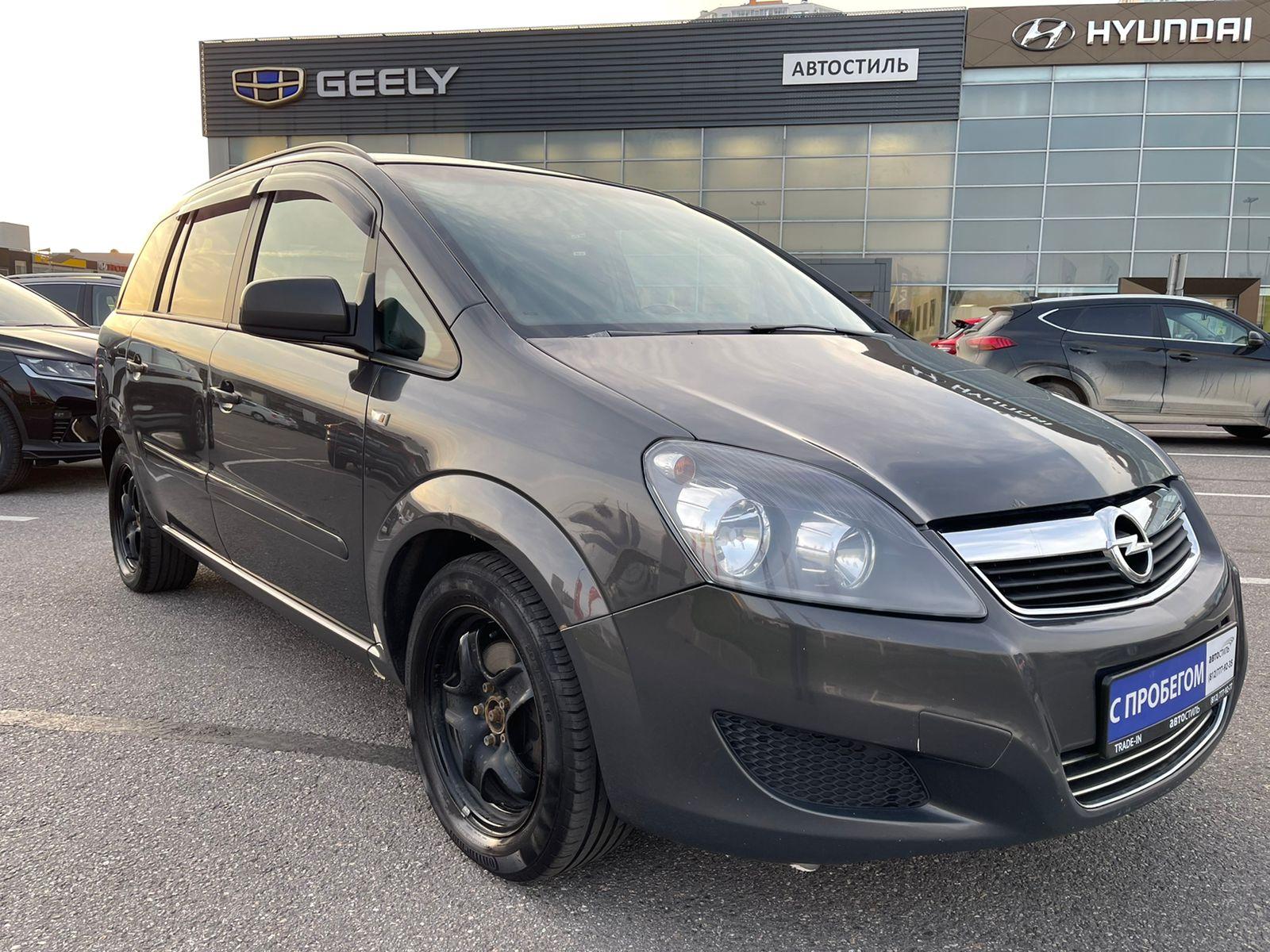 Opel Zafira, Family [рестайлинг]