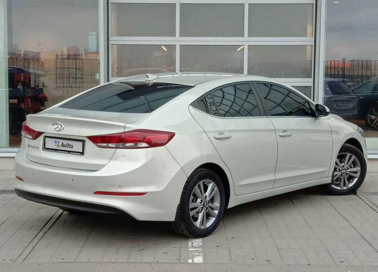 Hyundai | Elantra, VI (AD) Рестайлинг
