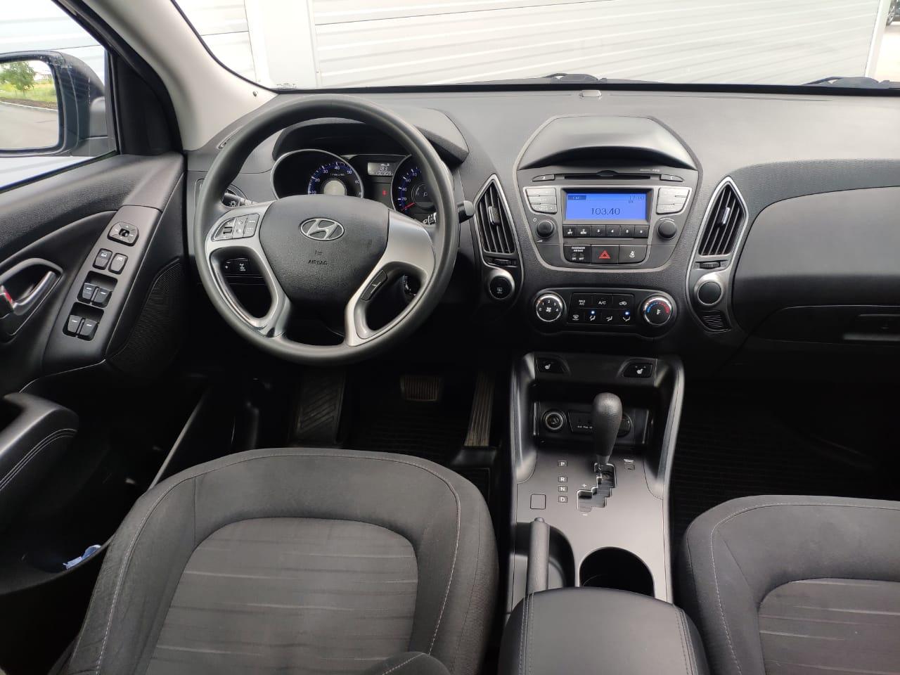 Hyundai | ix35, I Рестайлинг