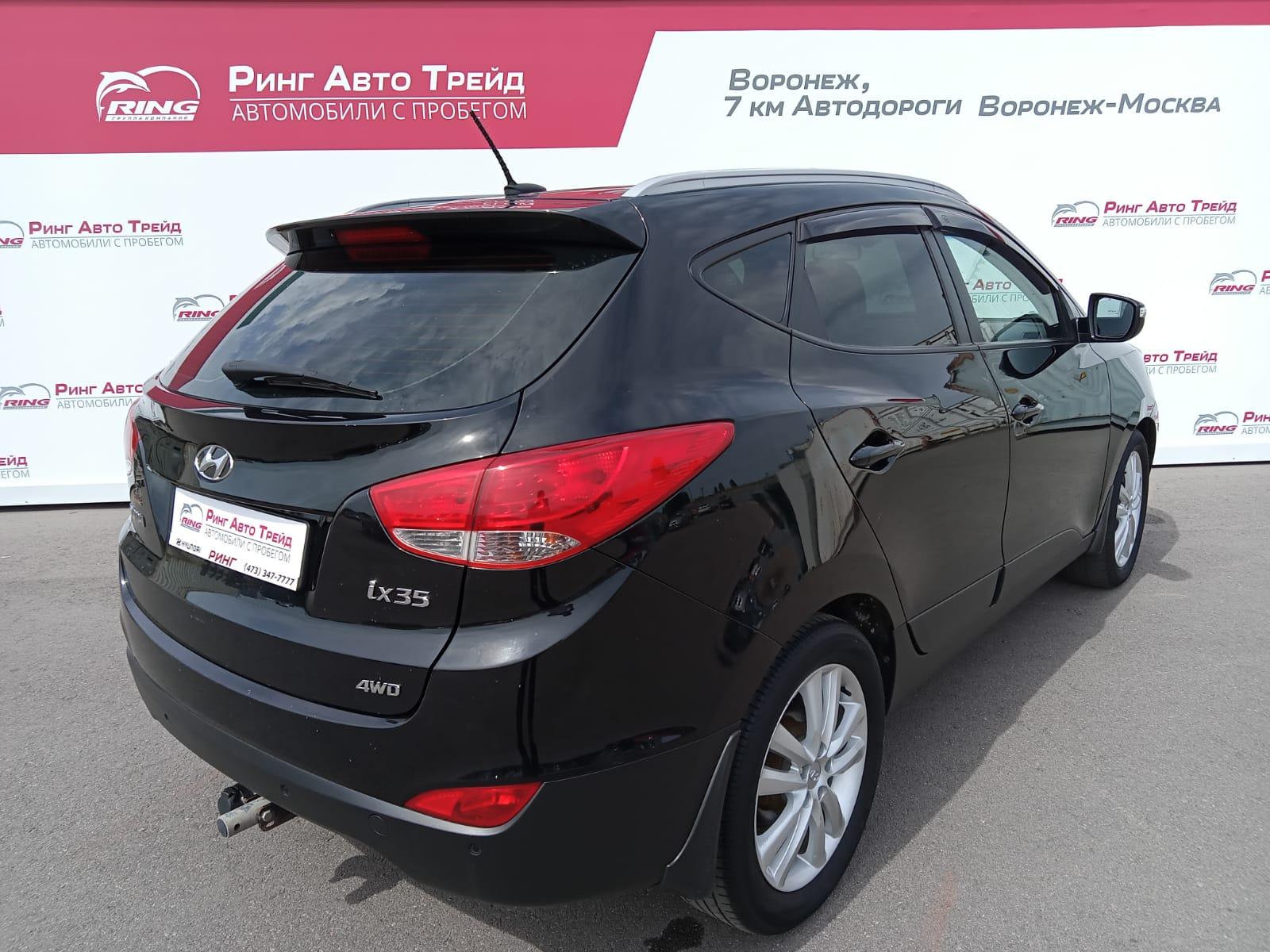 Hyundai ix35 Внедорожник (2012г.)