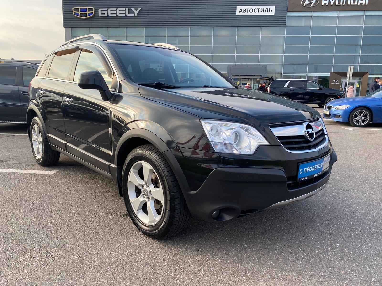 Opel Antara, 1 поколение