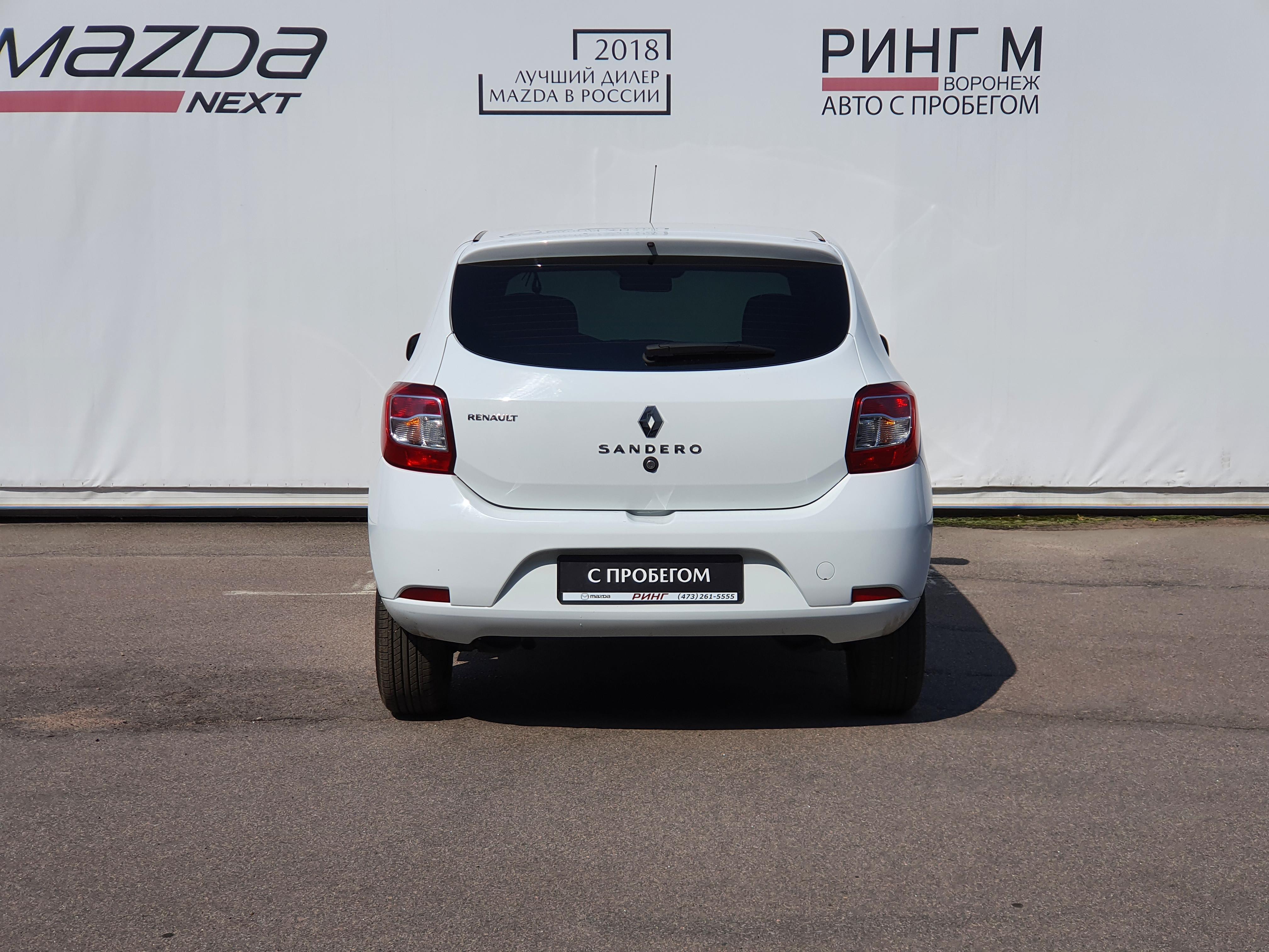 Renault Sandero Хэтчбек (2016г.)
