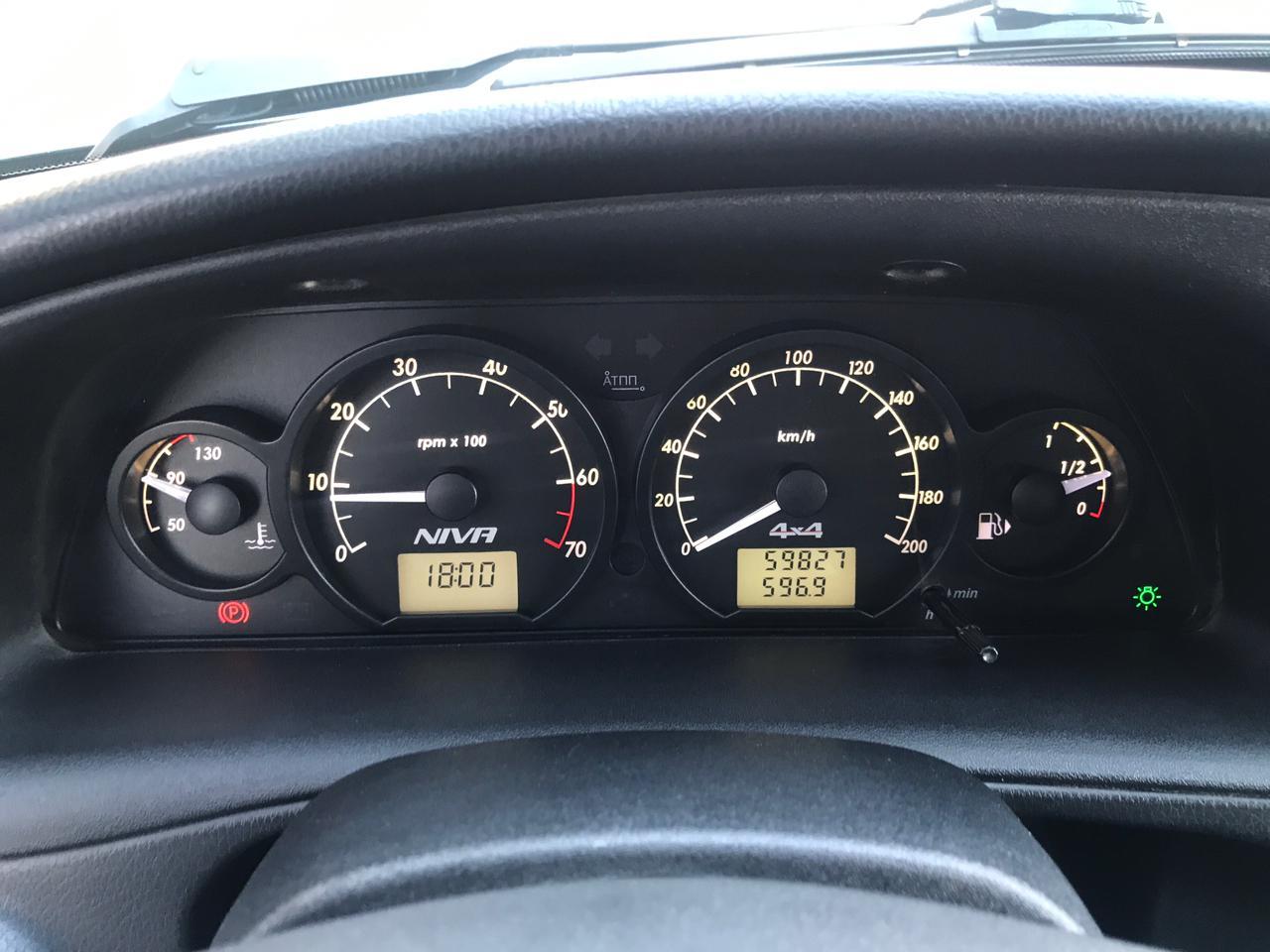 Chevrolet | Niva, I Рестайлинг