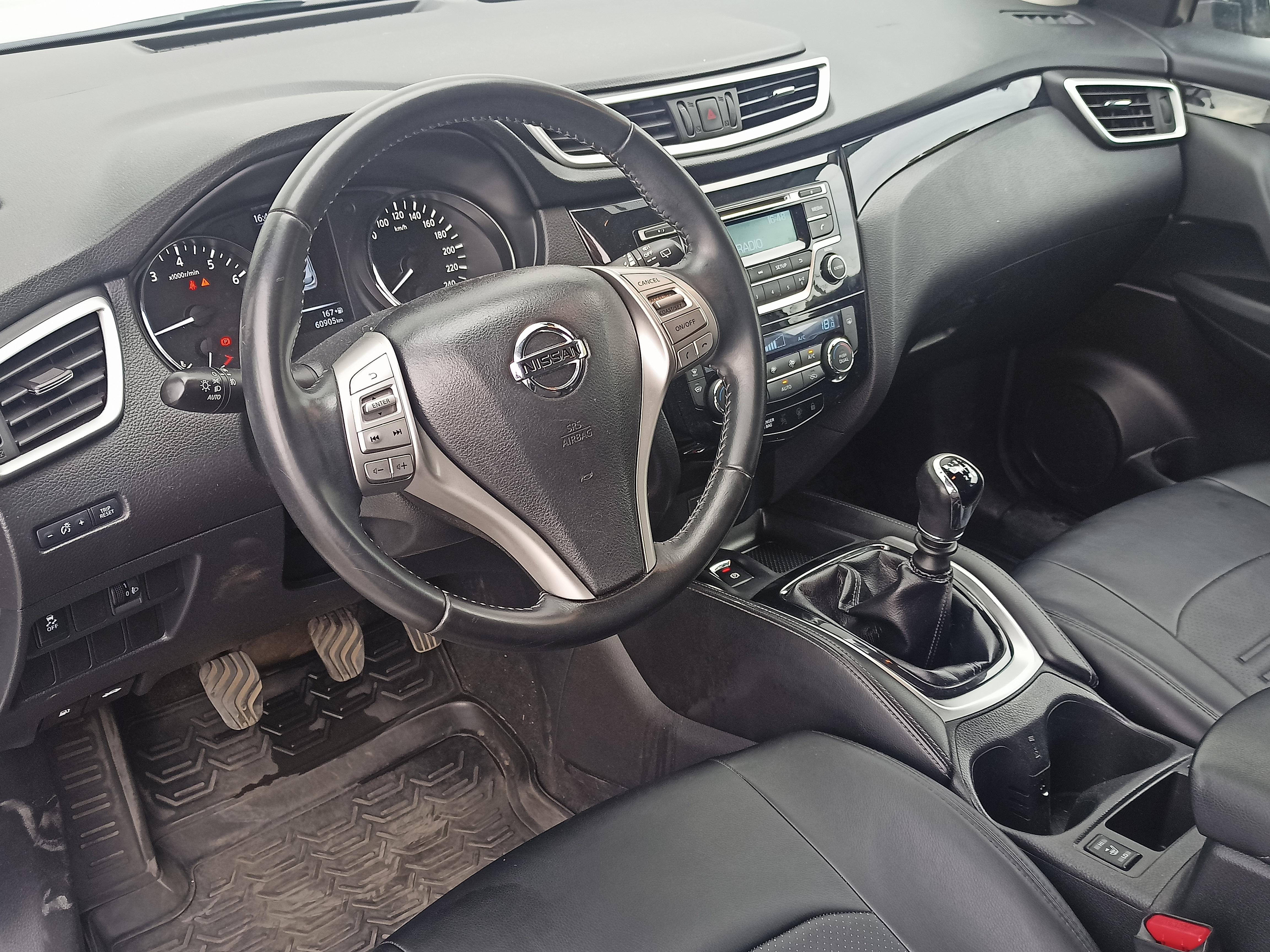 Nissan Qashqai Внедорожник (2016г.)