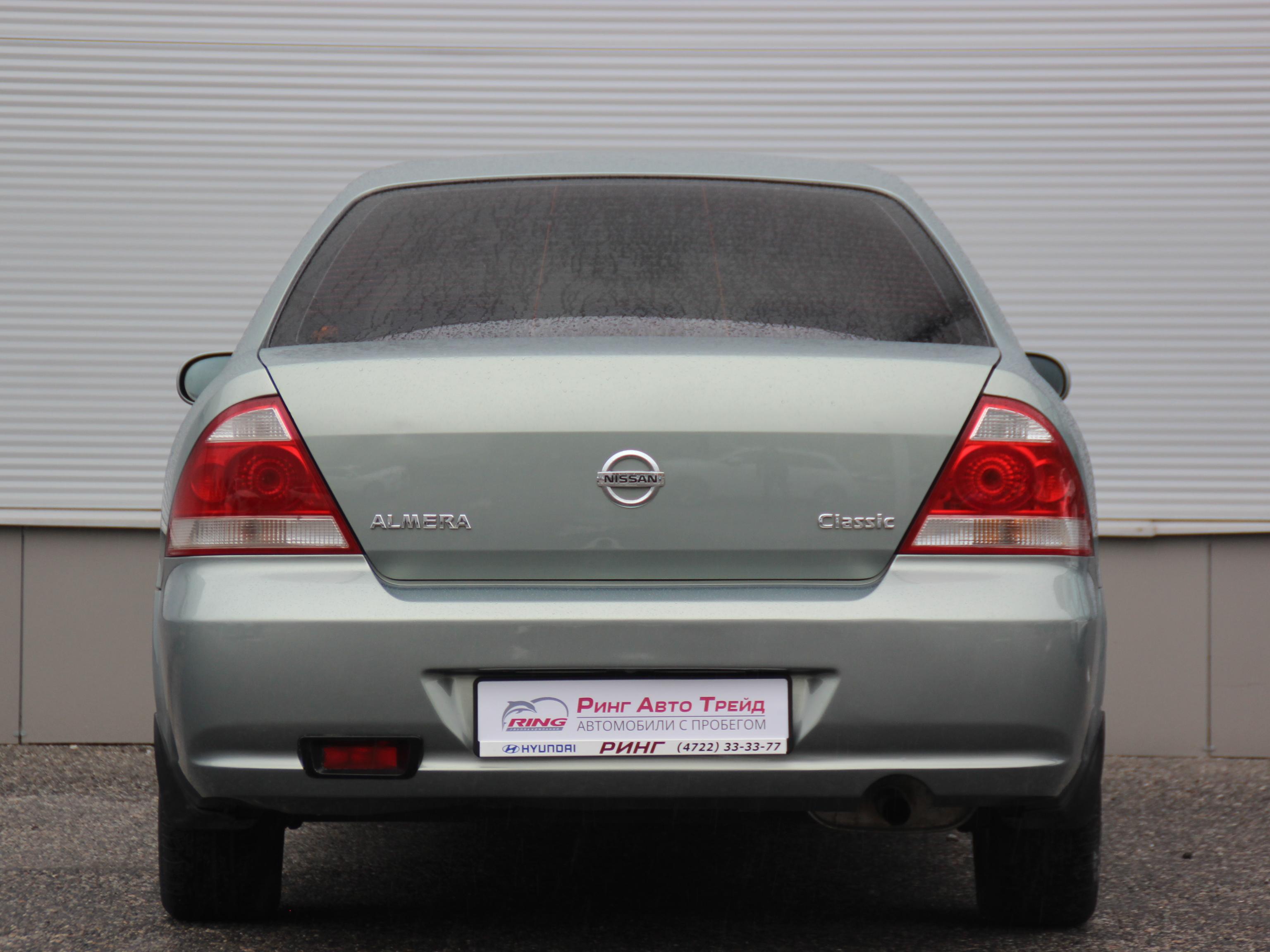 Nissan Almera Classic Седан (2006г.)
