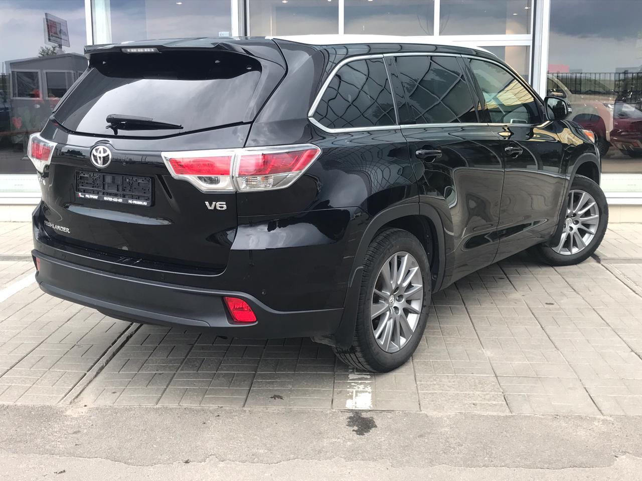 Toyota | Highlander, III (U50) Рестайлинг