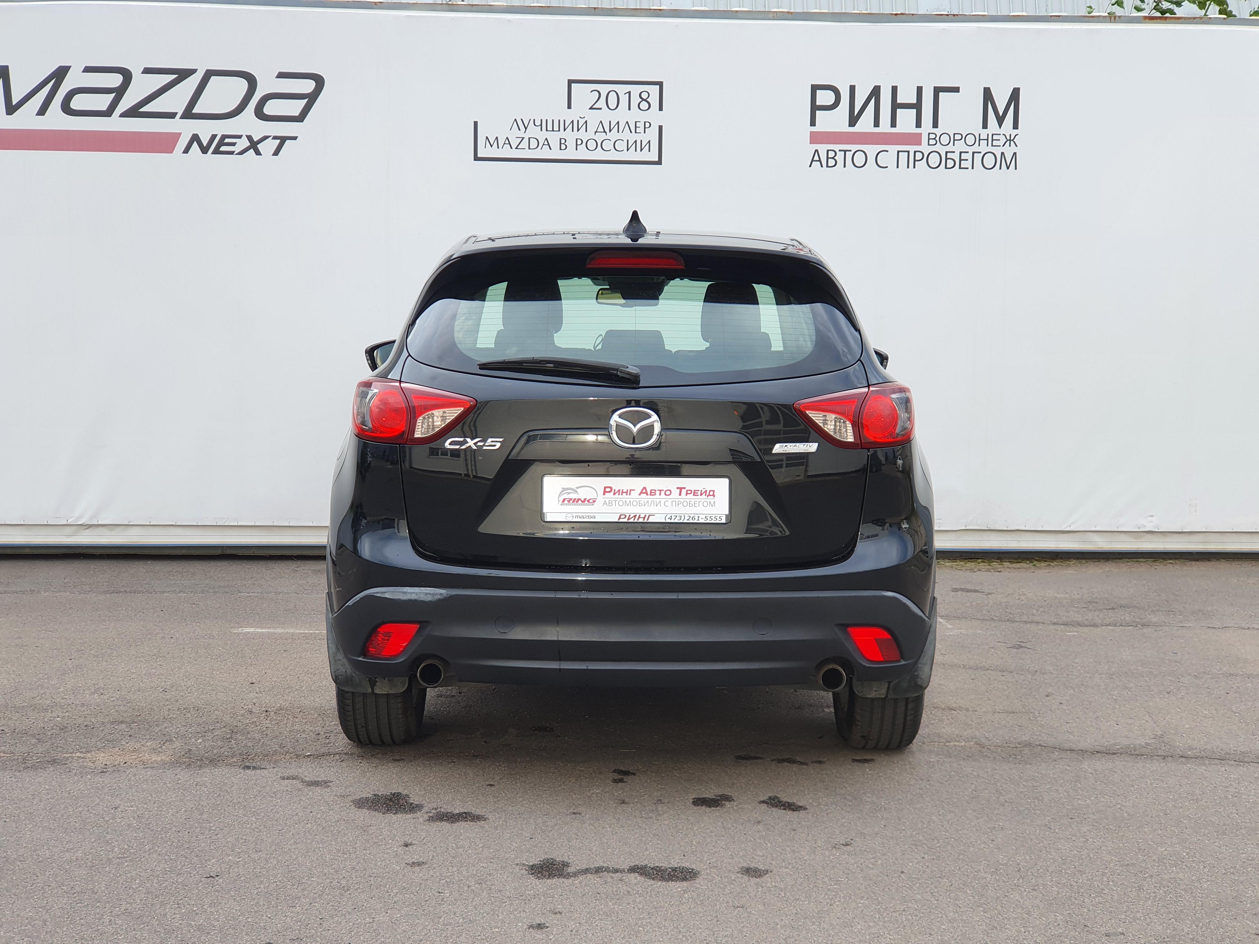 Mazda CX-5 Внедорожник (2014г.)