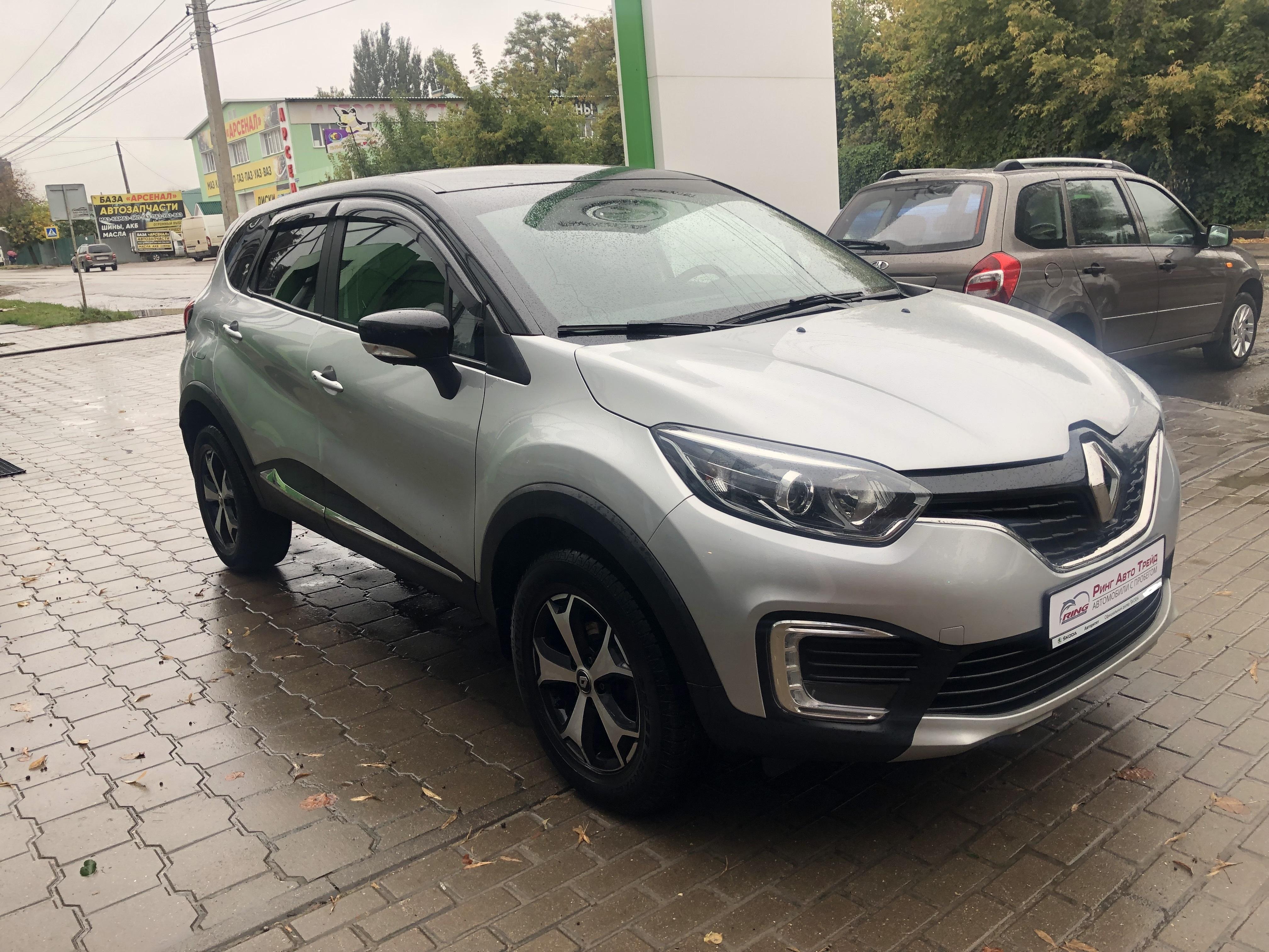 Renault Kaptur Внедорожник (2018г.)