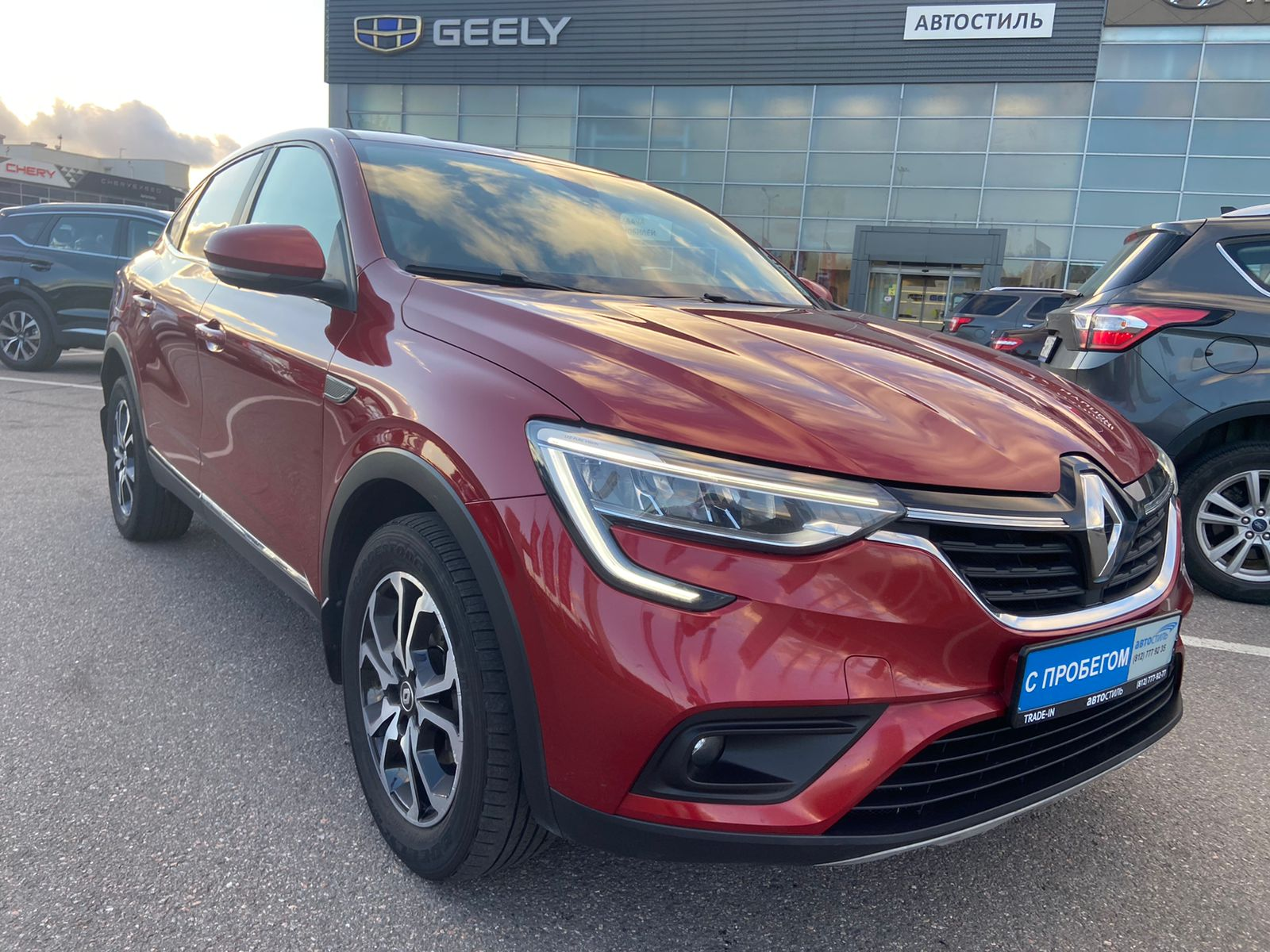 Renault Arkana, 1 поколение