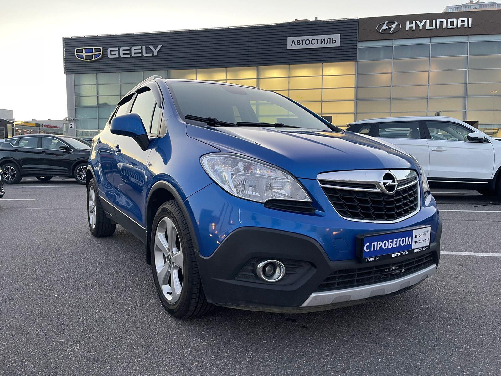 Opel Mokka, 1 поколение