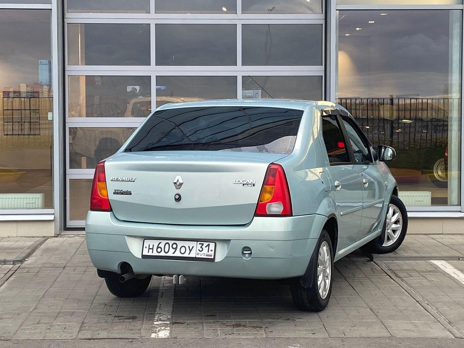 Renault   Logan, I Рестайлинг