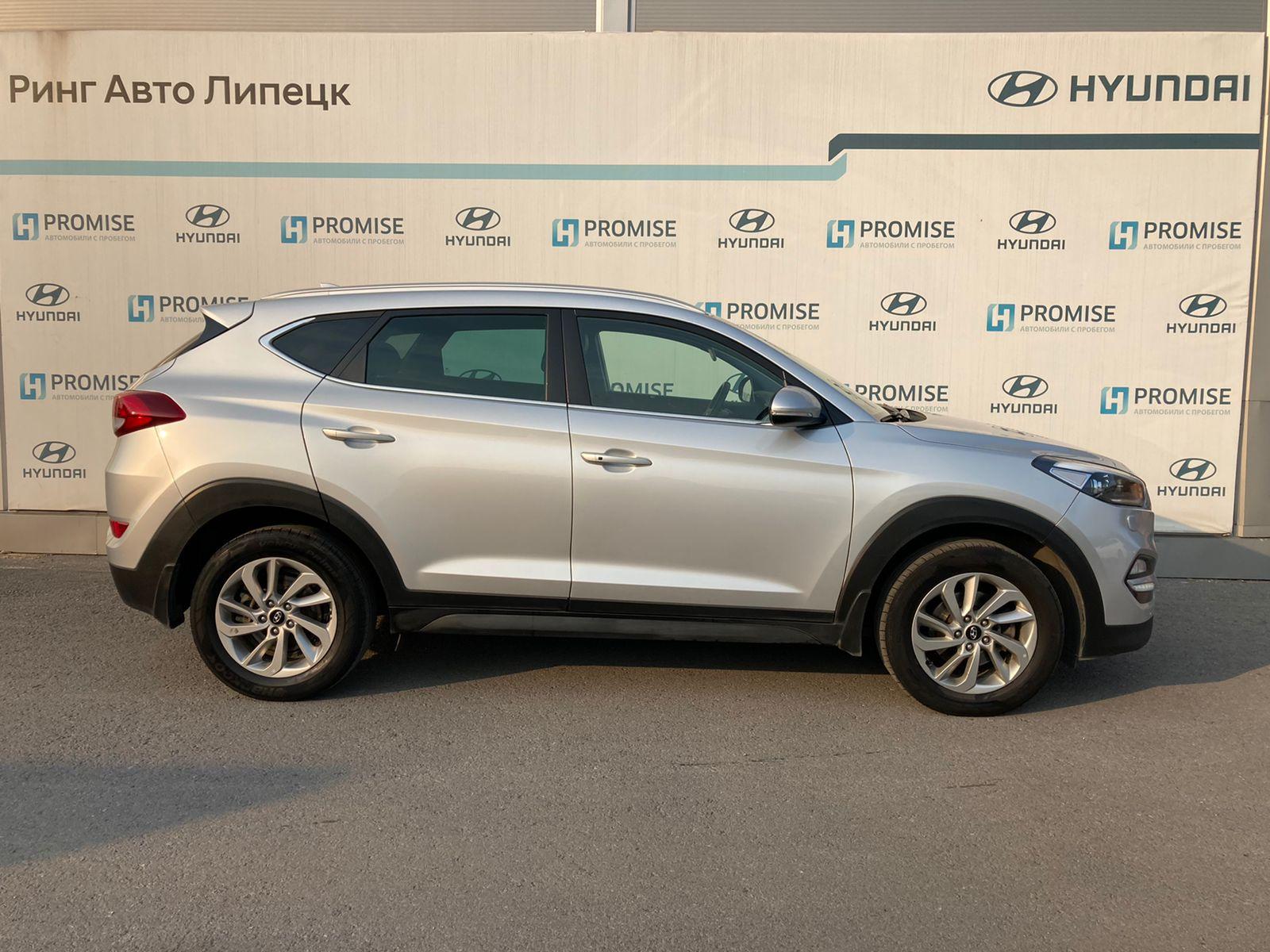 Hyundai Tucson Внедорожник (2016г.)