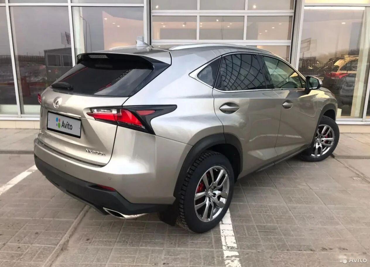 Lexus | NX, I Рестайлинг