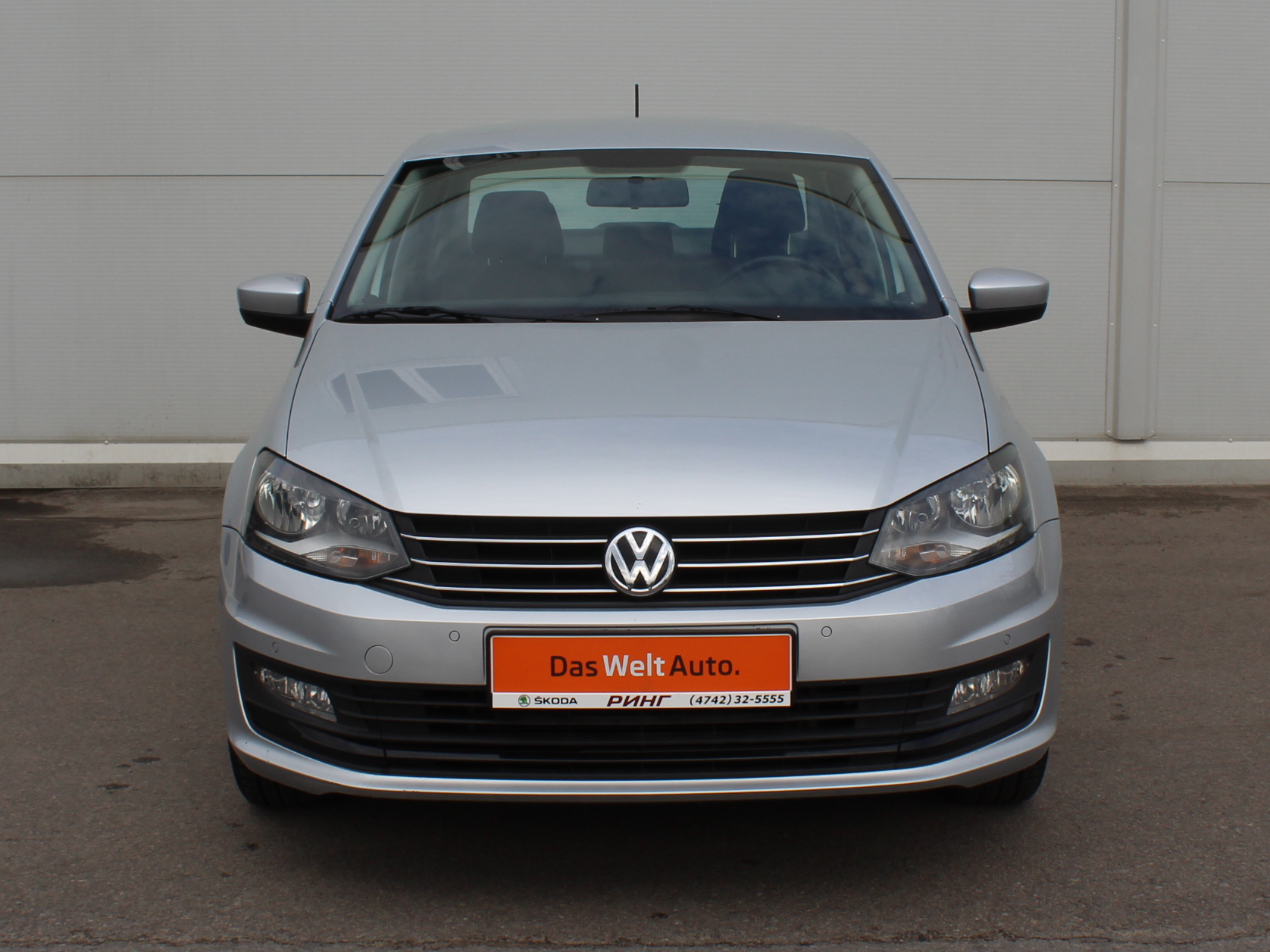 Volkswagen Polo Седан (2016г.)