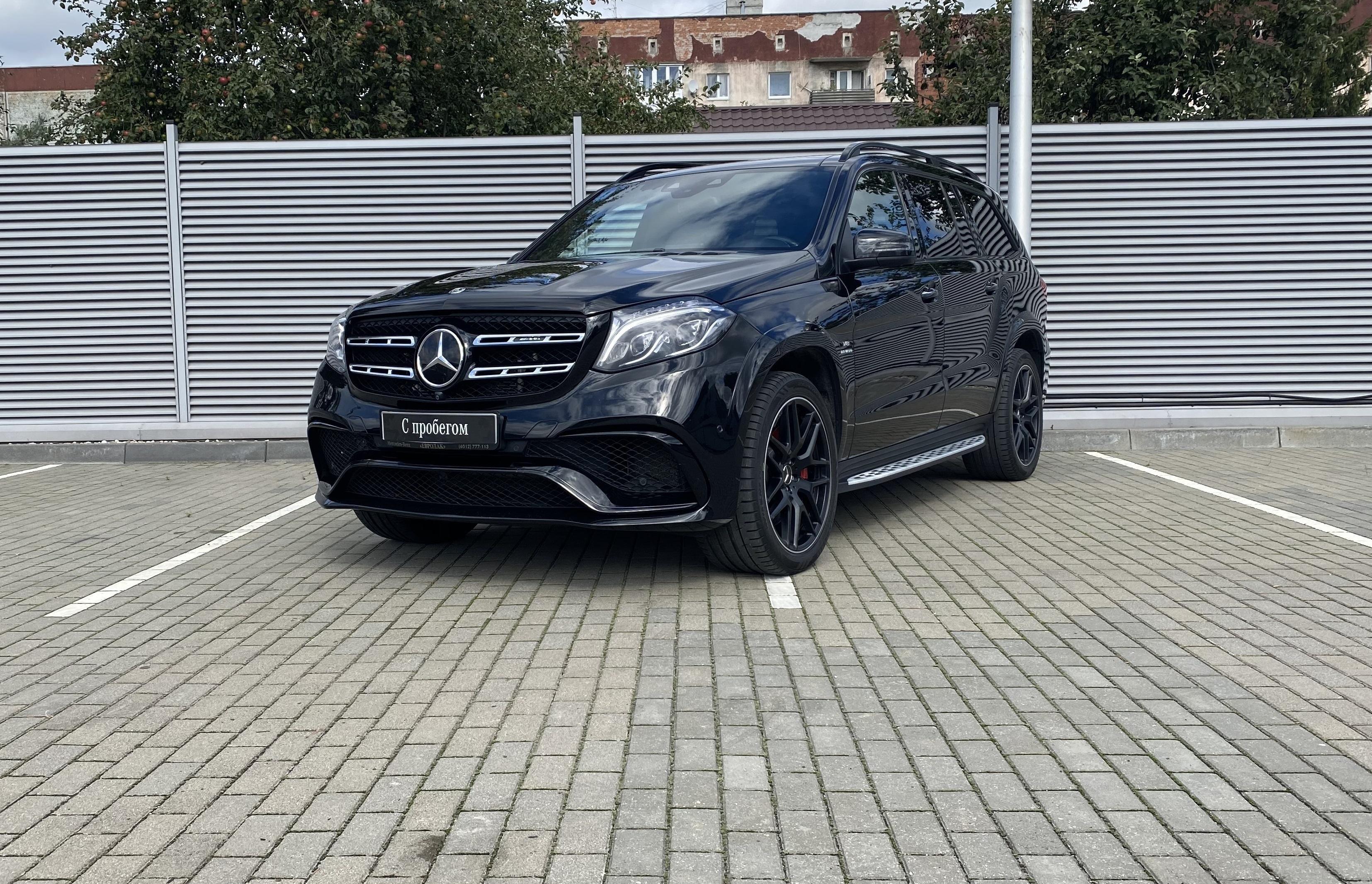 Mercedes-Benz GLS AMG, I (X166)