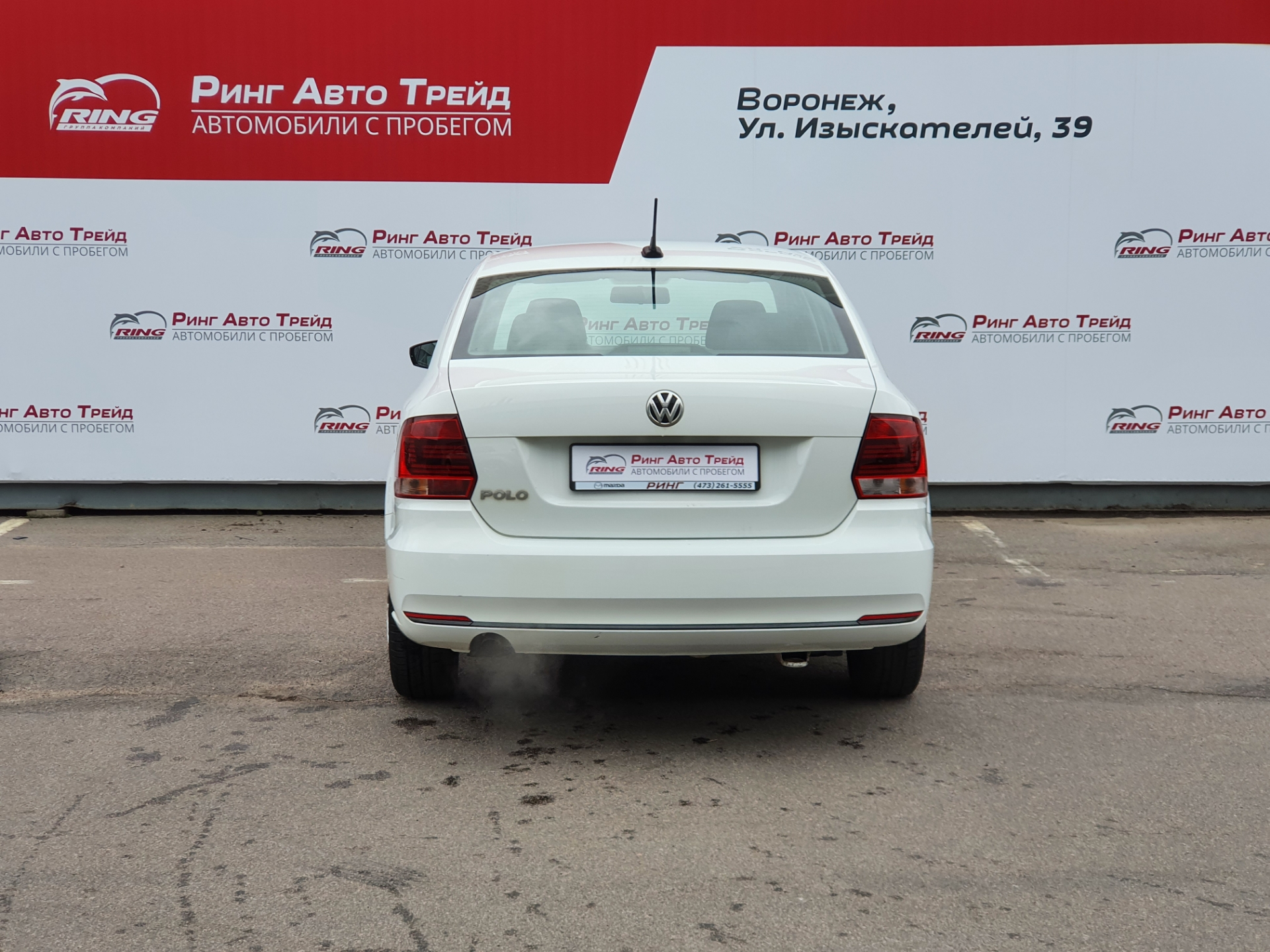 Volkswagen Polo Седан (2017г.)