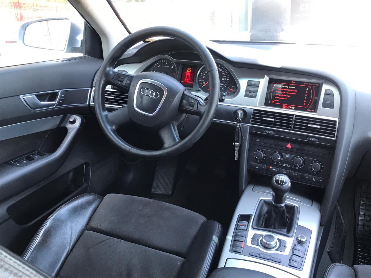 Audi | A6, III (C6) Рестайлинг