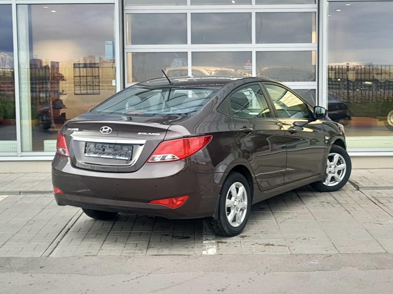 Hyundai | Solaris, I Рестайлинг