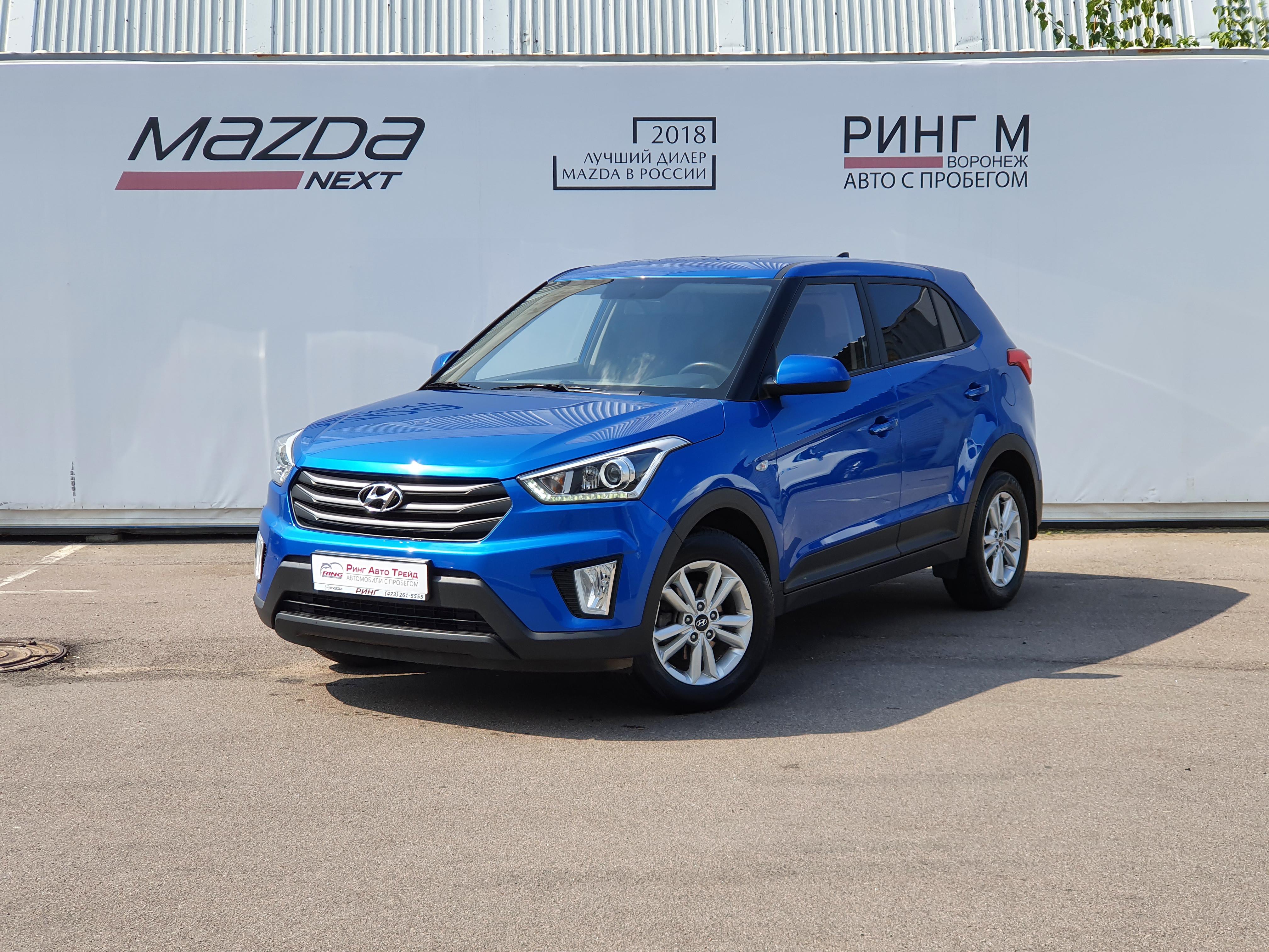 Hyundai Creta Внедорожник (2019г.)