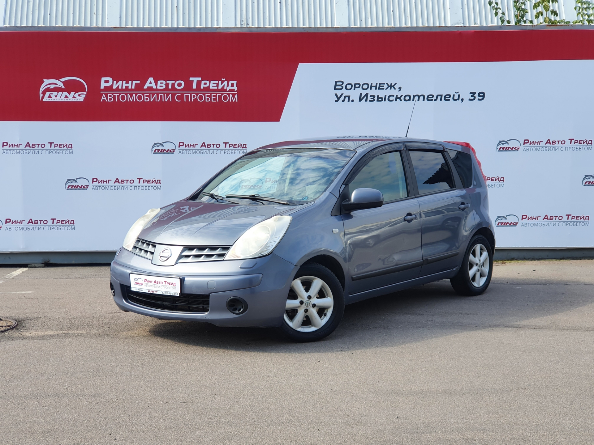 Nissan Note Хэтчбек (2007г.)